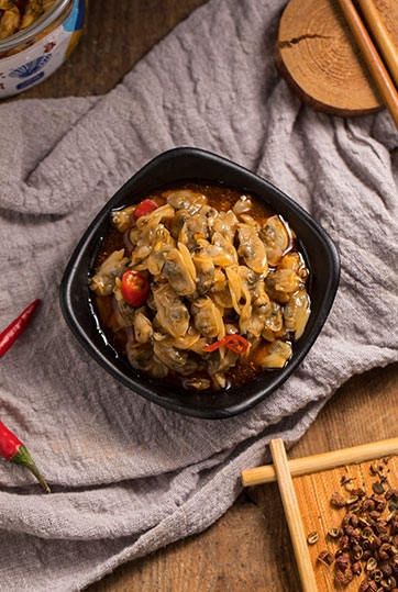 麻辣鲜蛤肉